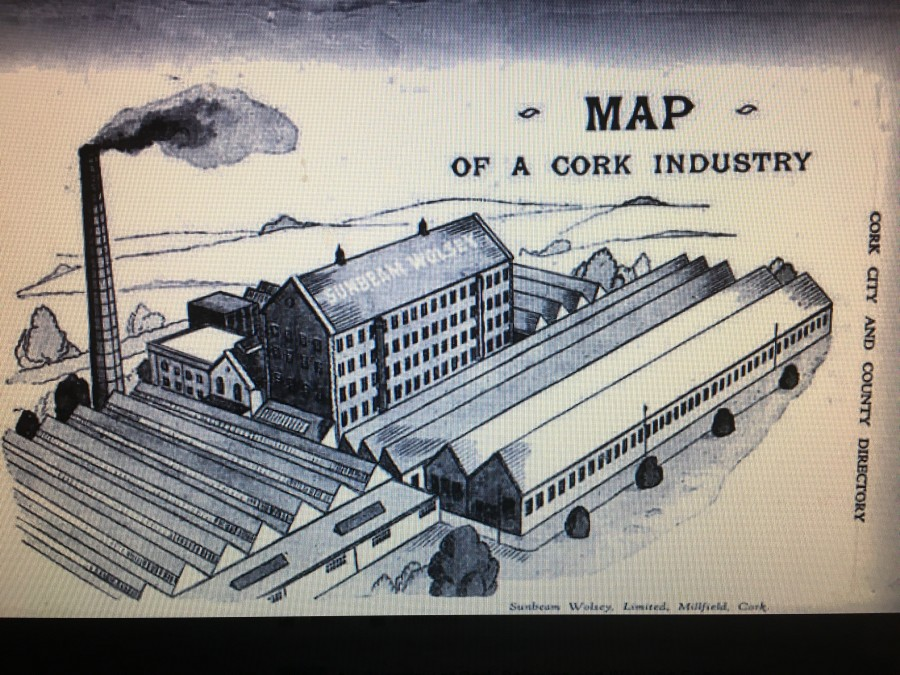 910b. Plan of Cork Spinning and Weaving Company