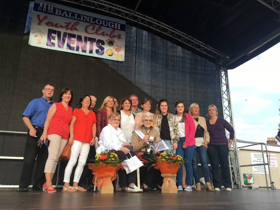 Ballinlough Persons of the Year, awarded at Ballinlough Summer Festival , August 2017