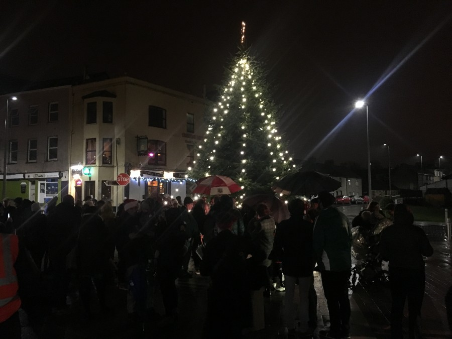 1. Blackrock Plaza Christmas  Tree Launch, December 2017