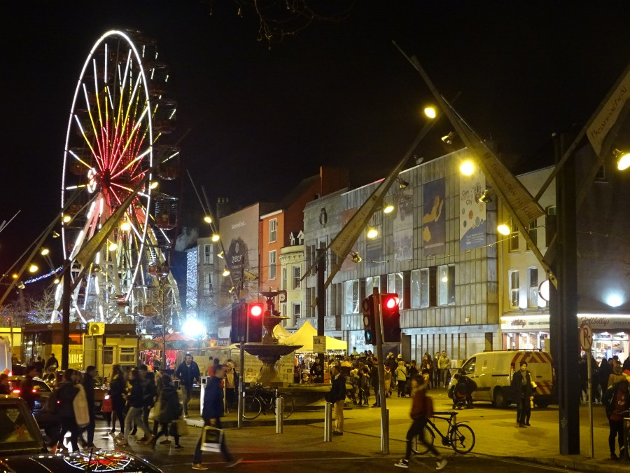 1. Christmas in Cork City, Grand Parade, December 2017