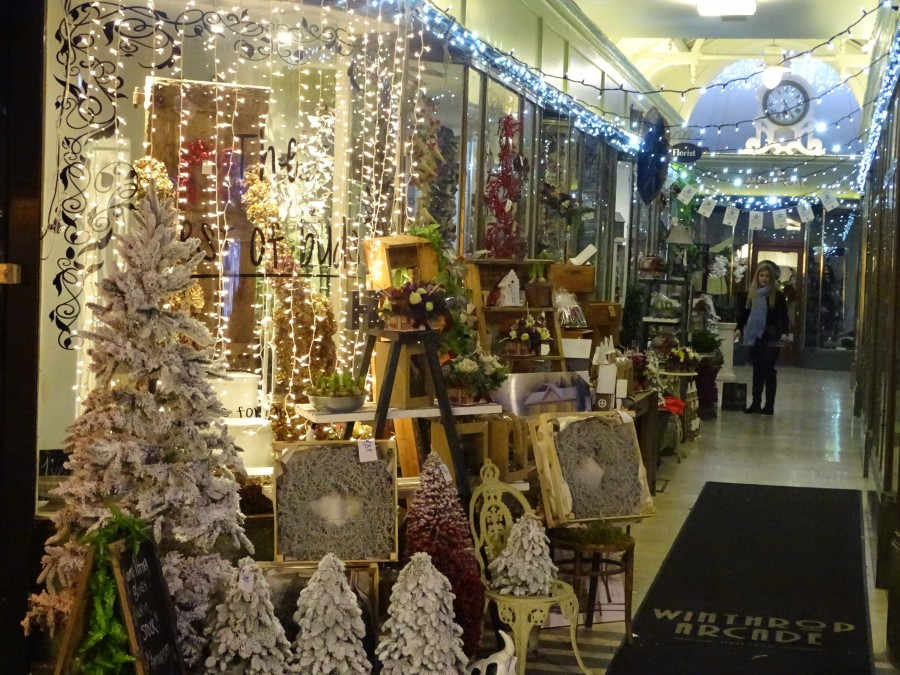 1. Christmas in Cork City, Munster Arcade, December 2017