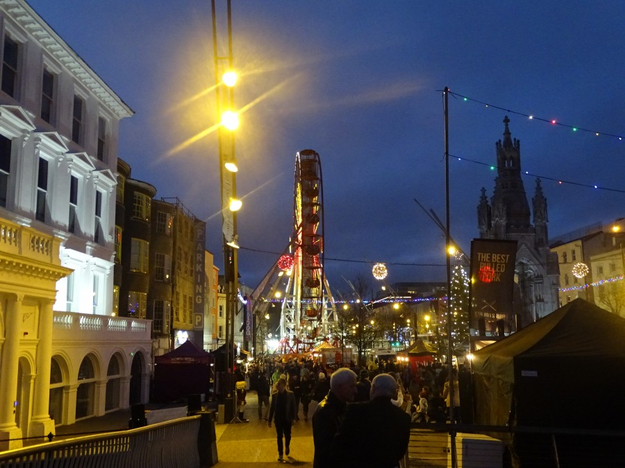 Christmas in Cork City, Grand Parade, December 2017