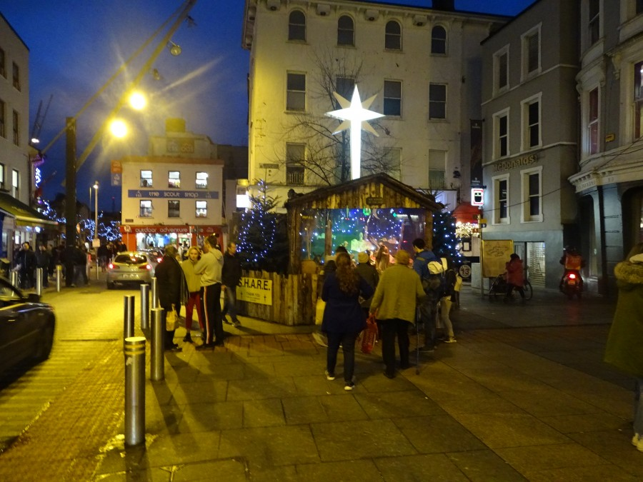 1. Christmas in Cork City, Daunt's Square, December 2017