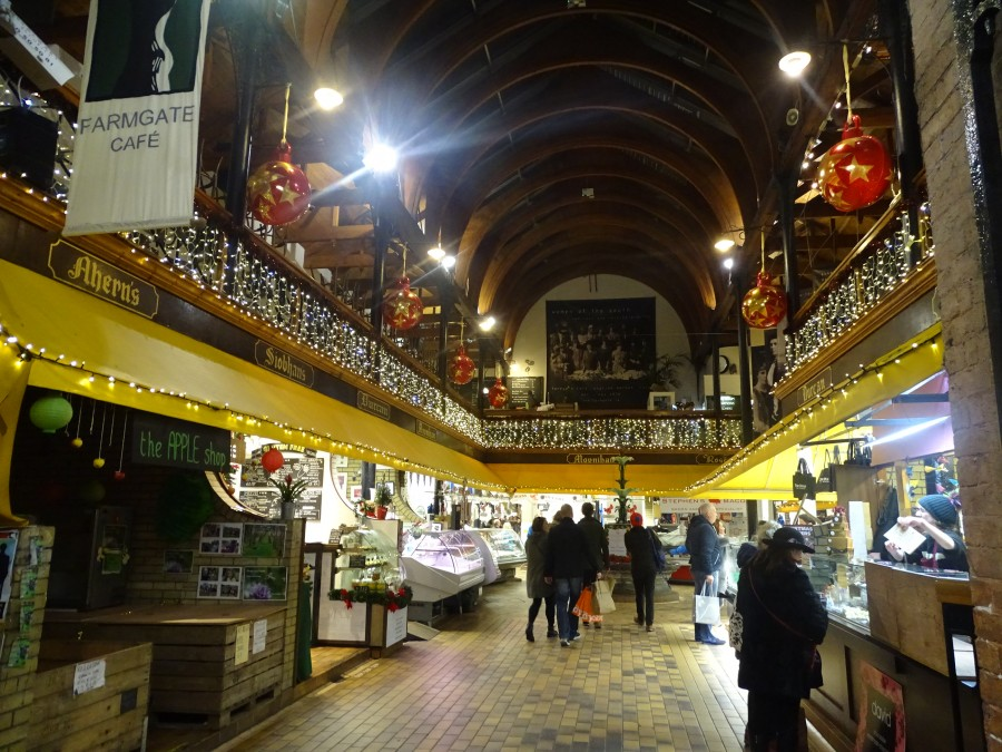 1. Christmas in Cork City, English Market, December 2017