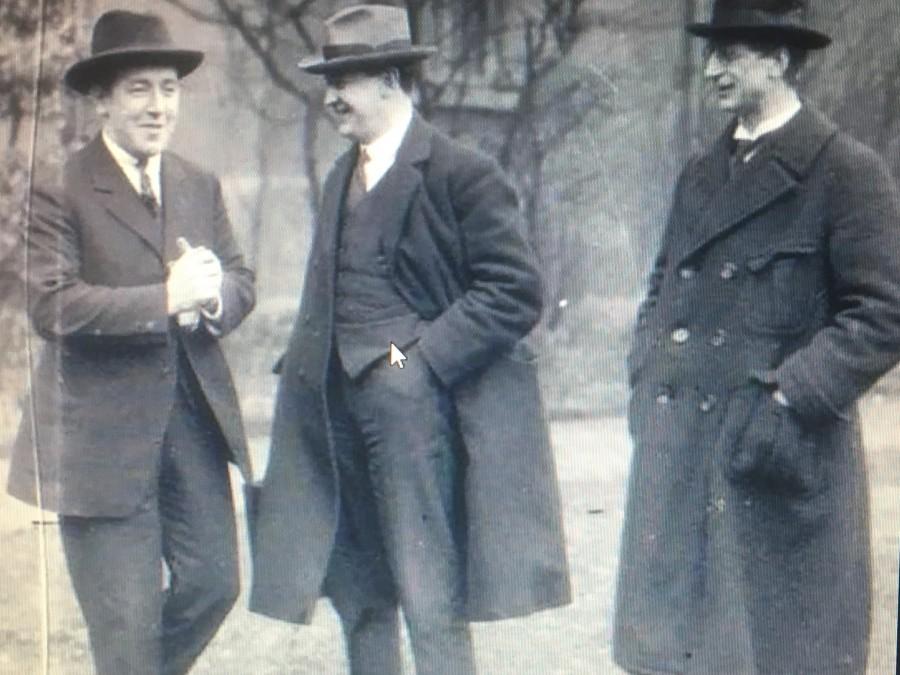 925b. Harry Boland, Michael Collins & Eamon deValera, c.1919