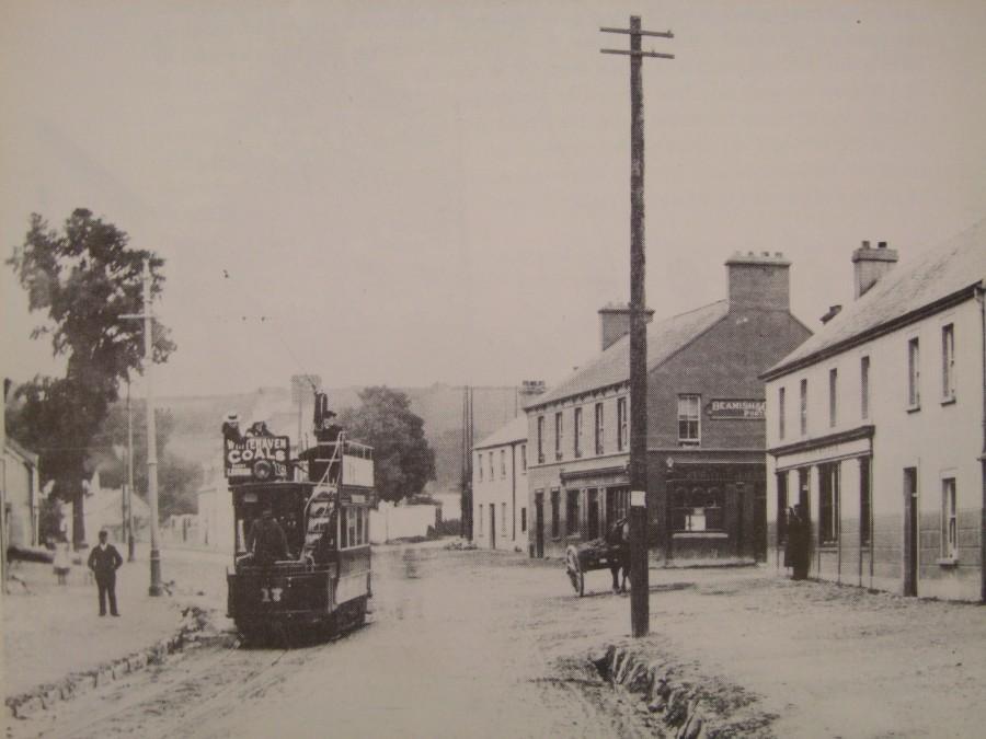 926a. Tram leaving Douglas Village, c.1900