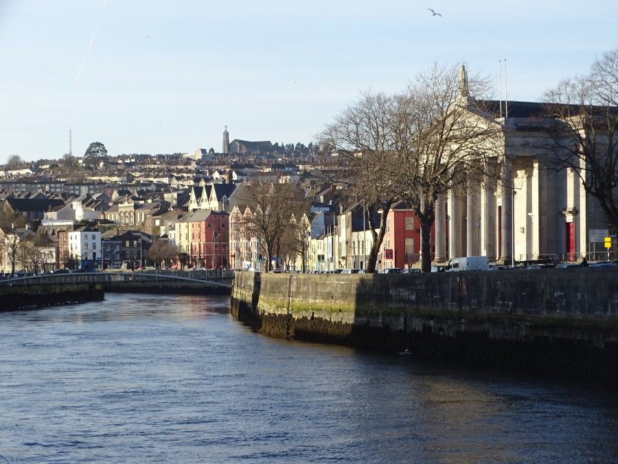 North Channel Walk of River Lee, Cork, 7 January 2018