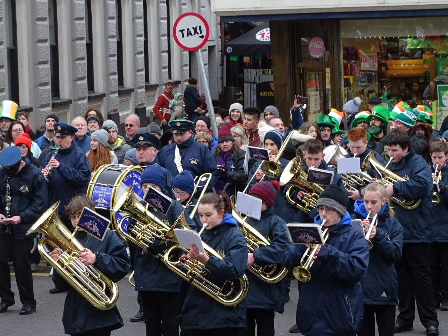 St Patrick's Day Parade, Cork, 17 March 2018