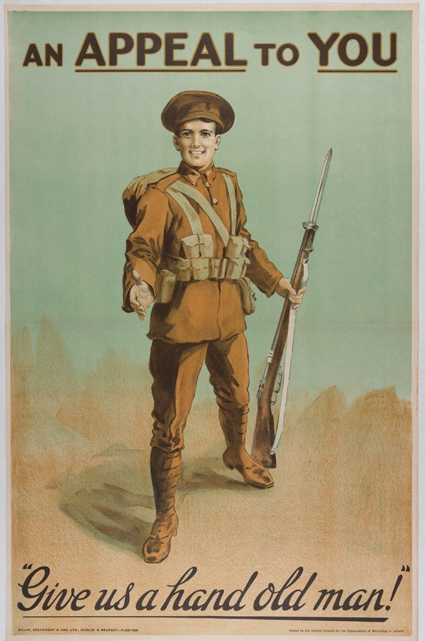941a. World War I recruitment poster