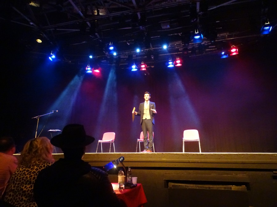 Special guest at final of McCarthy's Community Talent Competition, May 2018