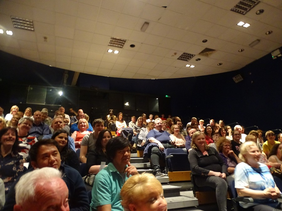 Audience at final of McCarthy's Community Talent Competition, May 2018