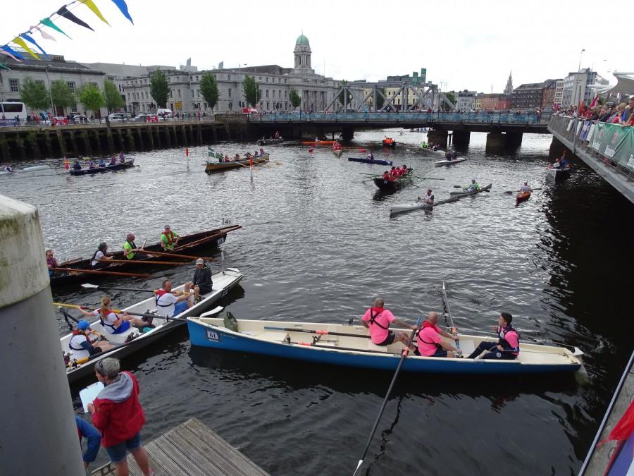 Ocean to City Race, Finish Line, Lapp's Quay, Cork Harbour Festival, June 2018
