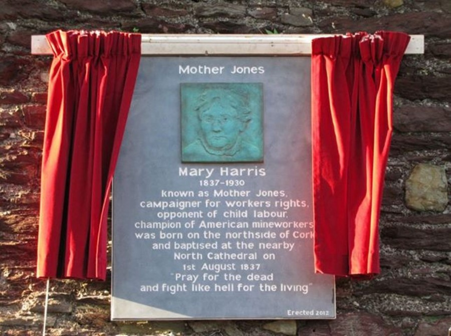 956b. Mother Jones Plaque Shandon