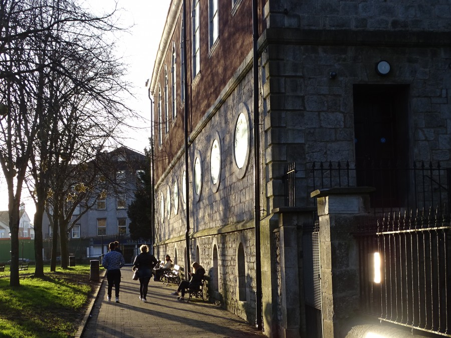 958b. Christ Church during sunset in February 2018, one of the 42 buildings to be celebrated for Cork Heritage Open Day 2018