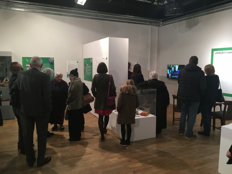 964a. Irish Heart, Coventry Home exhibition at Herbert Gallery, Coventry in March 2018
