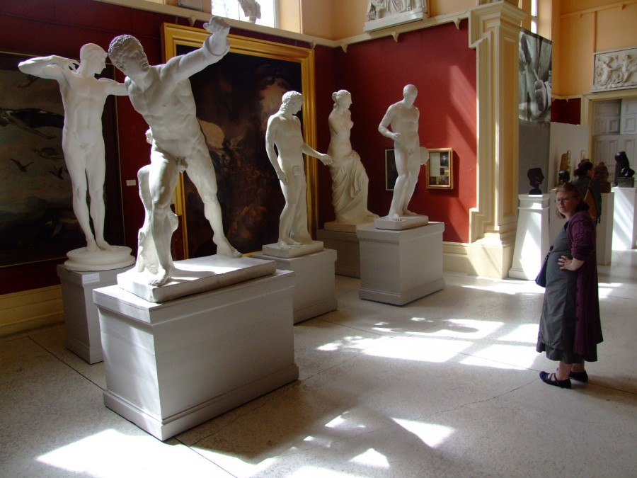 969b. Antonio Canova casts in the Crawford Art Gallery