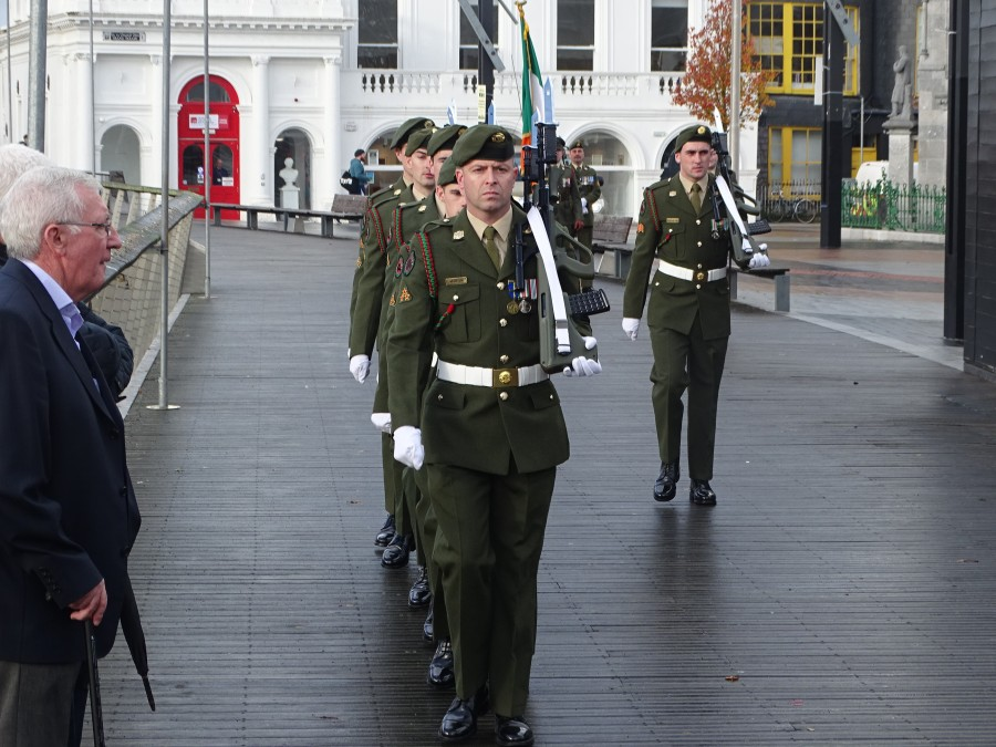 Armistice Day 100, World War I Memorial, South Mall, Cork, 11 November 2018