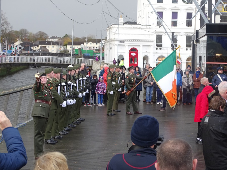 10. Armistice Day 100, World War I Memorial, South Mall, Cork, 11 November 2018