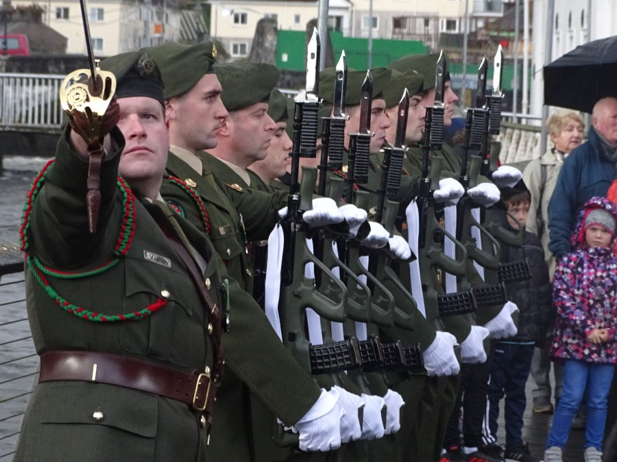 11. Armistice Day 100, World War I Memorial, South Mall, Cork, 11 November 2018