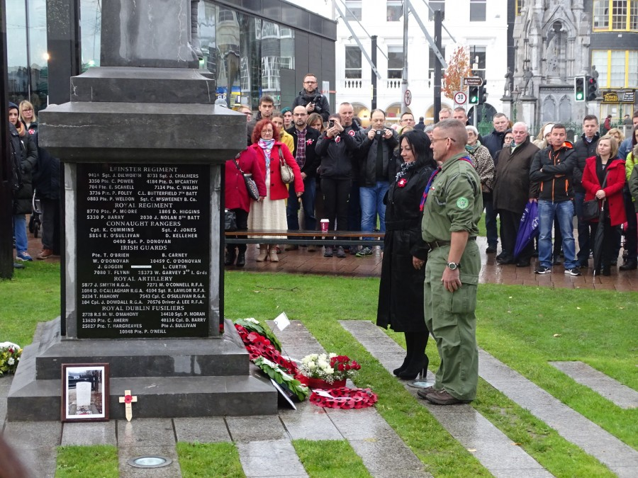 13. Armistice Day 100, World War I Memorial, South Mall, Cork, 11 November 2018