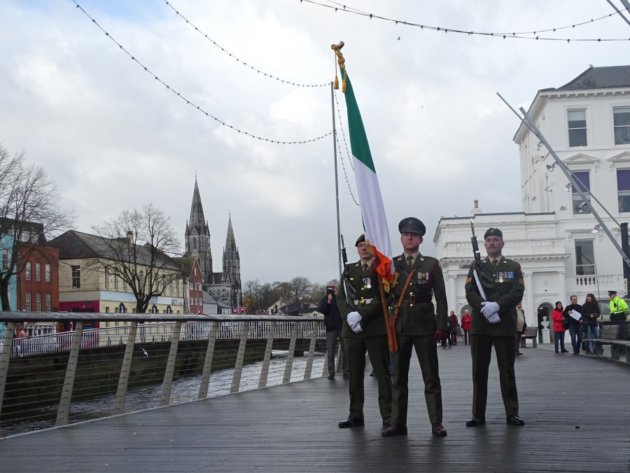 2.Armistice Day 100, World War I Memorial, South Mall, Cork, 11 November 2018