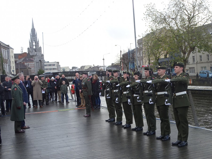 3.Armistice Day 100, World War I Memorial, South Mall, Cork, 11 November 2018