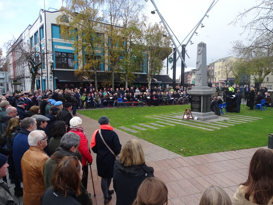 6. Armistice Day 100, World War I Memorial, South Mall, Cork, 11 November 2018