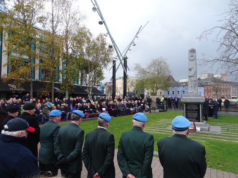 7. Armistice Day 100, World War I Memorial, South Mall, Cork, 11 November 2018