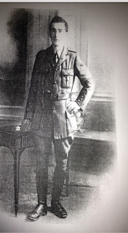 971a. Photo of Donncha McNeilus in Volunteer uniform