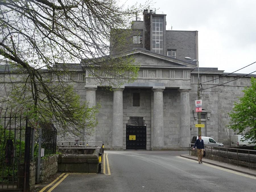 971c. Portico of former Cork County Gaol or Cork Male Prison, present day