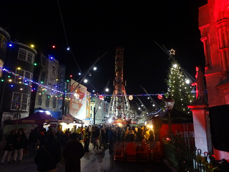 GLOW Festival, Christmas on the Grand Parade, Cork, December 2018