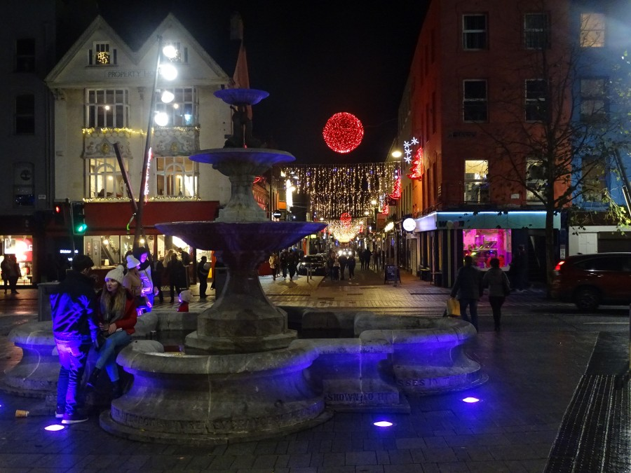GLOW Festival, Christmas on the Grand Parade & Oliver Plunkett Street, December 2018