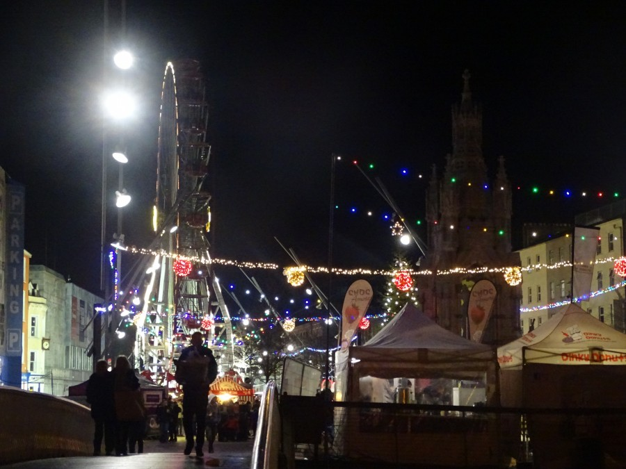 GLOW Festival, Christmas on the Grand Parade, December 2018