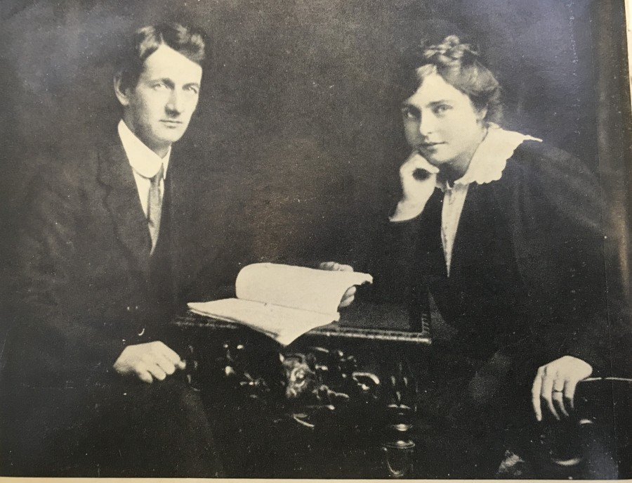 977b. Terence McSwiney and Muriel 1919