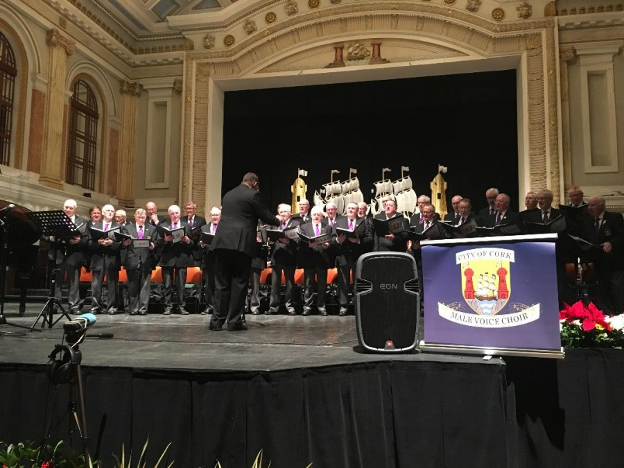 Cork Male Voice Choir, Concert Hall, Cork City Hall, December 2018