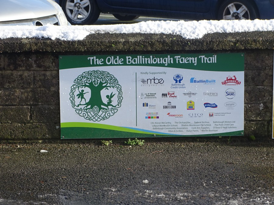 Old Ballinlough Faery Trail, Cork, 30 January 2019
