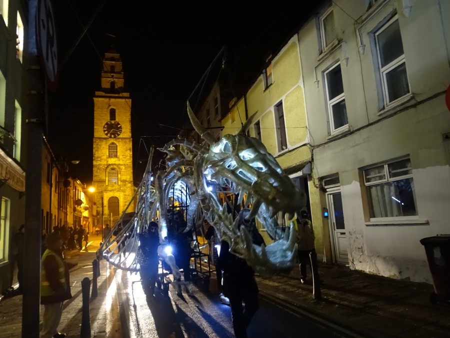 Dragon of Shandon, Cork, October 2018