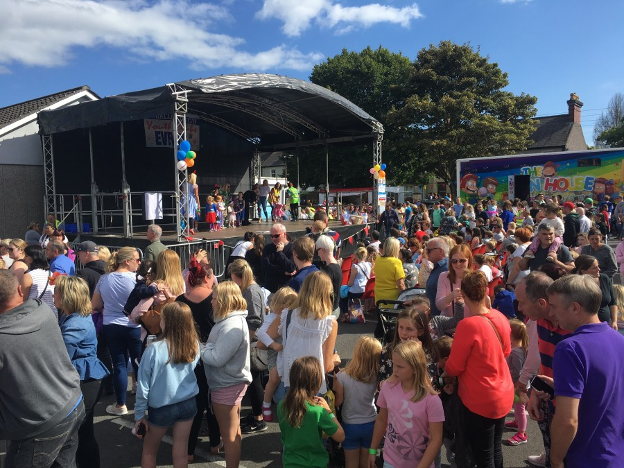 Ballinlough Summer Festival organised by Ballinlough Youth Clubs at Ballinlough Community Centre reaches its tenth year. August 2018