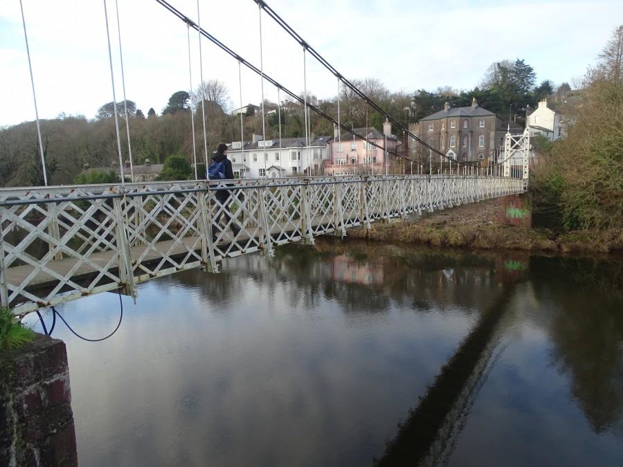 Shaky Bridge at Fitzgerald's Park, Cork, 8 January 2019 by Cllr KMC