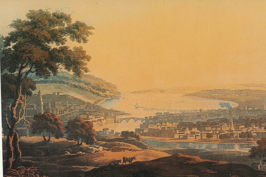View of Cork City by Thomas Sautell Roberts (1760-1826)