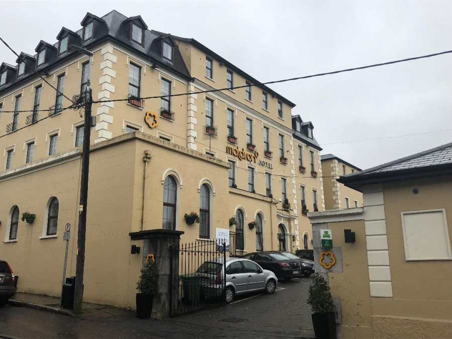 988b. Maldron Hotel, former site of North Infirmary, Cork, present day