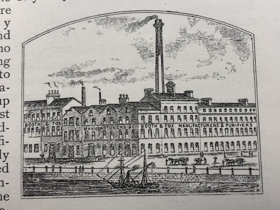 990a. Booth and Fox, Lavitt's Quay 1892 from Stratten and Stratten's Commercial Directory of the South of Ireland
