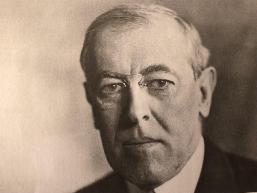 995a. US President Woodrow Wilson, 1919