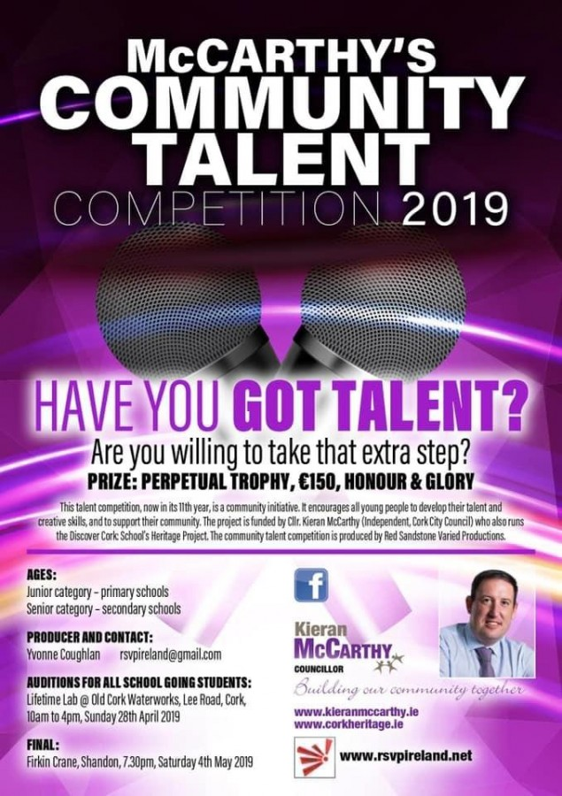 McCarthy's Community Talent Competition 2019