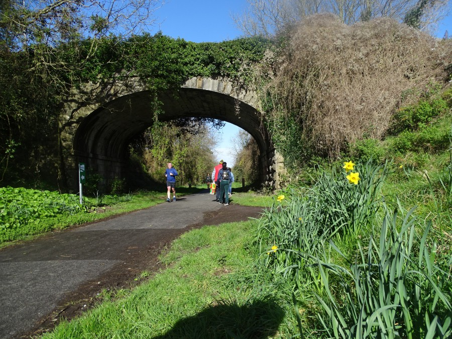 Spring at Old Cork Blackrock and Passage Railway Line, April 2019