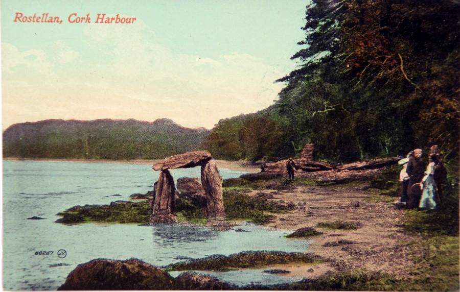 998a. Rostellan Dolmen, c.1900