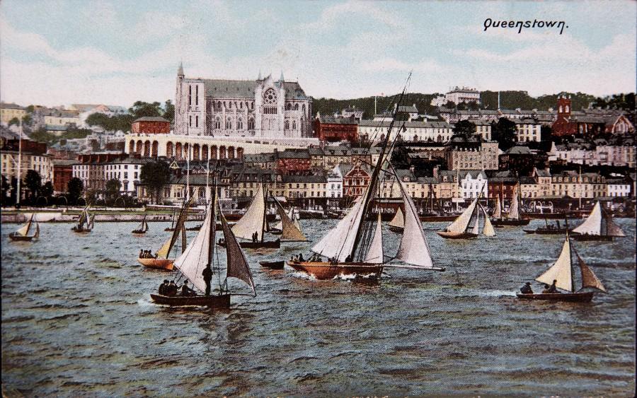 1001a. Postcard of Queenstown, c.1900