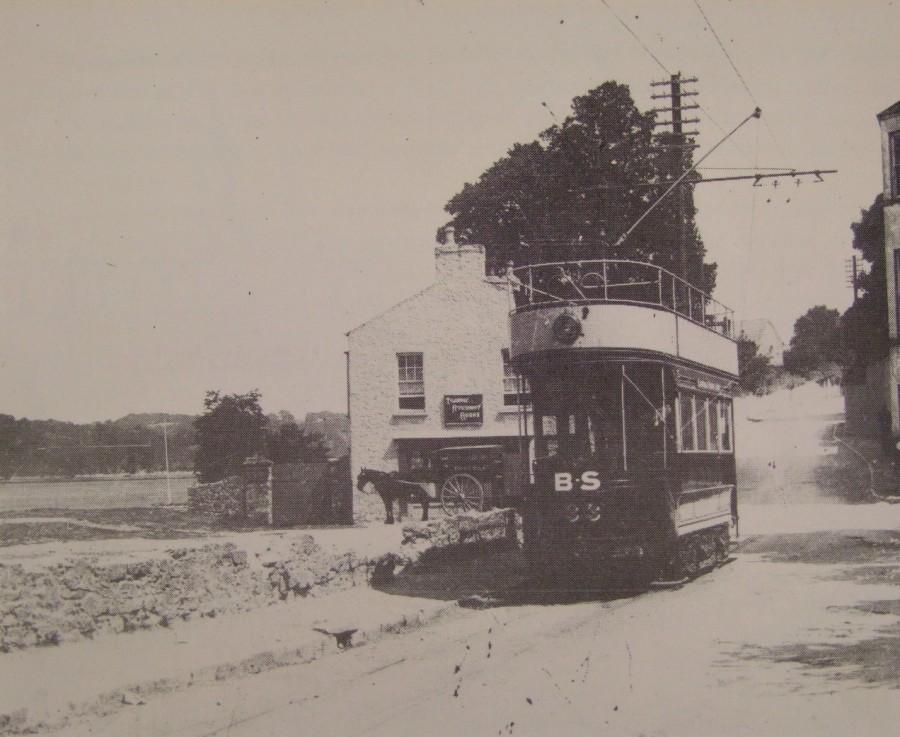 1003b. Tram at Blackrock, Cork, c.1901
