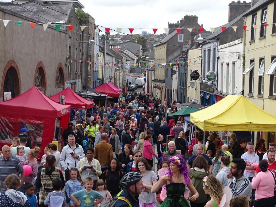 Shandon Street Festival, Cork, June 2019