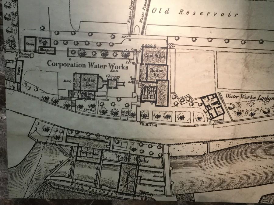 1006a. Plan of Cork Waterworks, c.1900
